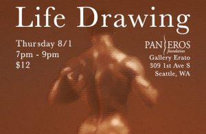Life Drawing at Gallery Erato @ Gallery Erato - lower level