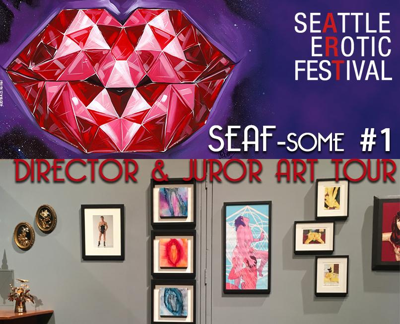 SEAF-som #1 Virtual Art Tour @ Online via zoom