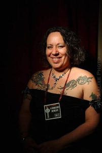 Allena at the 2007 Seattle Erotic Art Festival